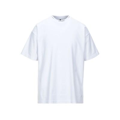 スタンプド STAMPD T シャツ ホワイト M コットン 100% T シャツ