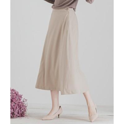 スカート フレアロングスカート