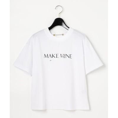tシャツ Tシャツ バックチェーンカットトップ