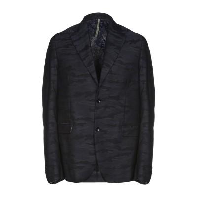 アレッサンドロデラクア ALESSANDRO DELL'ACQUA テーラードジャケット ダークブルー 48 コットン 60% / バージンウール