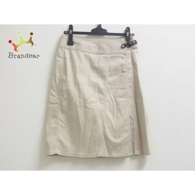 ニジュウサンク 23区 巻きスカート レディース ライトブラウン     スペシャル特価 20200620