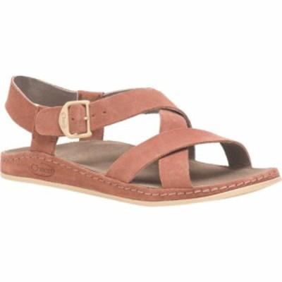チャコ Chaco レディース サンダル・ミュール シューズ・靴 Wayfarer Leather Sandal Clay Suede