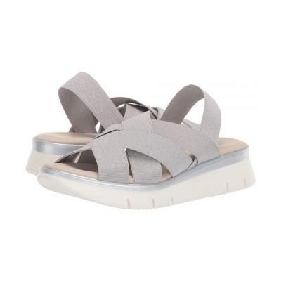 The FLEXX レディース 女性用 シューズ 靴 サンダル Lorybeth - Silver Elastic Lame