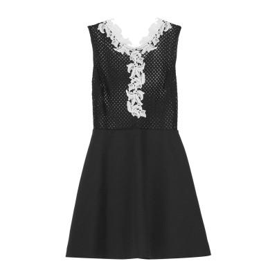 SANDRO ミニワンピース&ドレス ブラック 2 コットン 60% / ナイロン 40% / ポリエステル ミニワンピース&ドレス