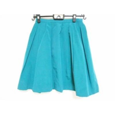 アプワイザーリッシェ Apuweiser-riche スカート サイズ1 S レディース 美品 グリーン【中古】20191003