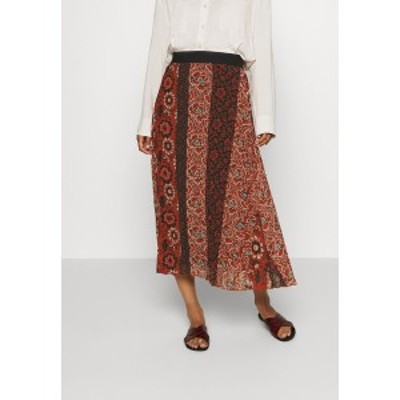 デジグアル レディース スカート ボトムス FAL ROSAL DESIGNED BY MR CHRISTIAN LACROIX - Maxi skirt - borgoa borgoa