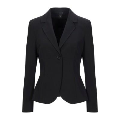 NUVOLA テーラードジャケット ブラック 42 ポリエステル 95% / ポリウレタン 5% テーラードジャケット