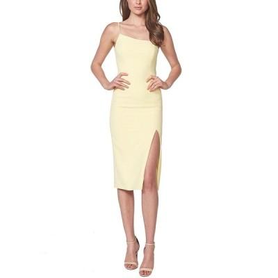バードット ワンピース トップス レディース Suzana One-Shoulder Dress Light Yellow