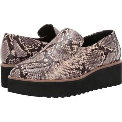 ヴィンス Vince レディース ローファー・オックスフォード シューズ・靴 Zeta Natural Snake Print Leather
