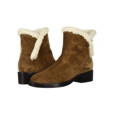Sigerson Morrison シガーソンモリソン レディース 女性用 シューズ 靴 ブーツ スタイルブーツ アンクル ショートブーツ Hatty - Brown Suede/Shearling
