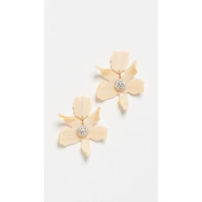レレ サドイ Lele Sadoughi レディース イヤリング・ピアス ジュエリー・アクセサリー Small Crystal Lily Earrings Bone