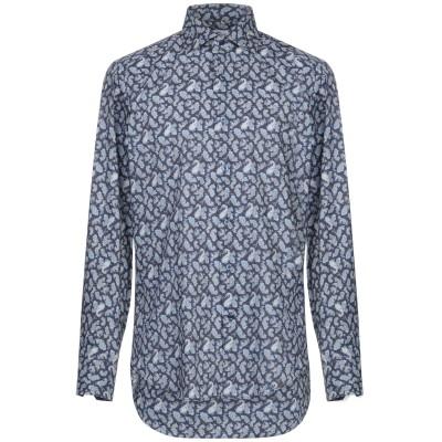 CASTANGIA シャツ ブルー 41 コットン 100% シャツ