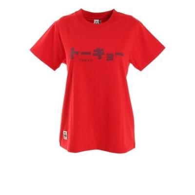 チャムス(CHUMS)トーキョー 半袖Tシャツ CH11-1668-R009 アウトドア カジュアル レトロ 東京 シンプル