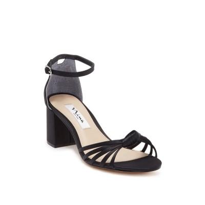 ニナ レディース サンダル シューズ Nidiah Strappy Heeled Sandal BLACK LS S