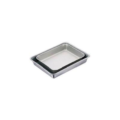 【まとめ買い10個セット品】IKD 18-8抗菌フッ素加工角バット 8枚取