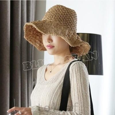 帽子レディース春夏秋冬uv折りたたみ大きいサイズ対応のつば広uv帽子風で飛ばないUVカット帽子1自転車ギフト