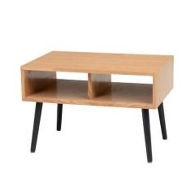 テーブル 幅60cm ローテーブル 長方形 木製 天然木 コンパクト テレビ台 サイドテーブル 机 ナチュラル