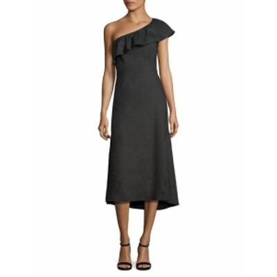 レディース ワンピース Evangeline Ruffled One-Shoulder Dress