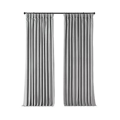 Exclusive Fabrics シグネチャーベルベット製 120 インチ遮光カーテンパネル 100 X 108 VPCH-VET160401-10