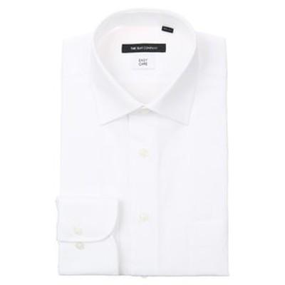 ワイドカラードレスシャツ 織柄〔EC・BASIC〕
