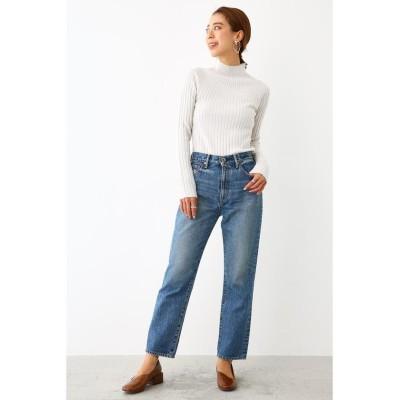 【ロデオクラウンズワイドボウル】 JWSO Slim st jeans レディース ブルー 24inch RODEO CROWNS WIDE BOWL