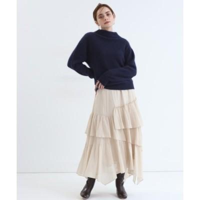 スカート ティアードスカート