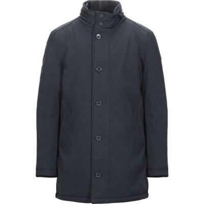 ヘンリーコットンズ HENRY COTTON'S メンズ ダウン・中綿ジャケット アウター synthetic padding Dark blue