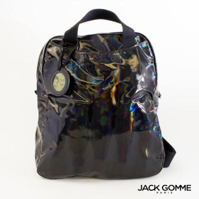 Jack Gomme ジャックゴム リュック レディース メンズ LAMI 1815 NOIR (ブラック) LIGHT BOREALシリーズ 2020秋冬限定