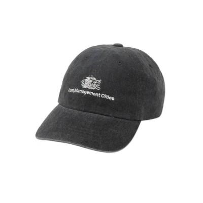 WANT SLIP / 【LMC】OVERDYED DRAGON 6 PANEL CAP / エルエムシー オーバーダイ ドラゴン 6パネル ベースボール キャップ MEN 帽子 > キャップ