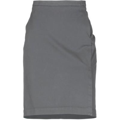 ファビアナフィリッピ FABIANA FILIPPI ひざ丈スカート ドーブグレー 52 コットン 98% / ポリウレタン 2% ひざ丈スカート