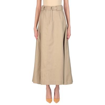 J.CRICKET ロングスカート サンド 1 コットン 100% ロングスカート