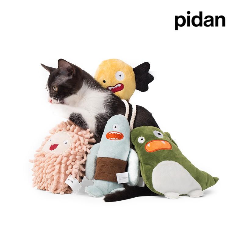 pidan 貓用 毛絨玩具 小怪獸系列 貓薄荷玩偶 可水洗 貓咪玩具
