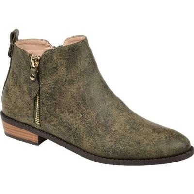 ジュルネ コレクション Journee Collection レディース ブーツ シューズ・靴 Ellis Bootie Olive