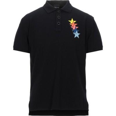 ジャスト カヴァリ JUST CAVALLI メンズ ポロシャツ トップス polo shirt Black