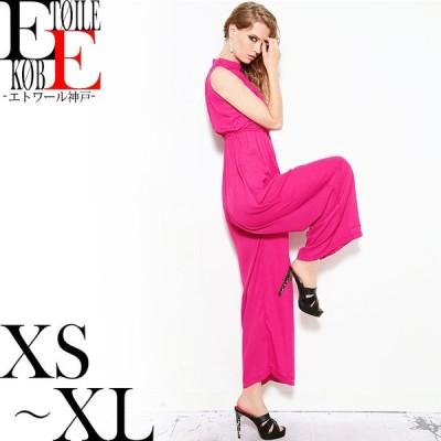 ダンス衣装 ワンピース ダンス 衣装 ノースリーブ ワイドパンツ オールインワン ロングワンピース ピンク おしゃれ エトワール神戸