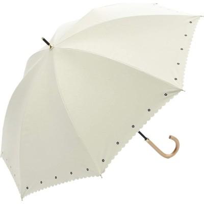 a.s.s.a 日傘 レディース UVカット 遮光 長傘 晴雨兼用 手開き 遮光率 99.99%以上 遮熱効果 50cm フラワー 花柄 レ