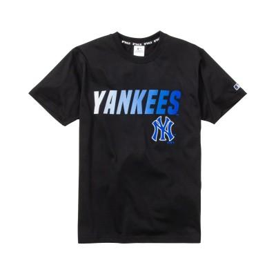 MAJOR LEAGUE BASEBALL グラデーションプリント半袖Tシャツ Tシャツ・カットソー, T-shirts,
