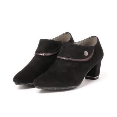 シュープラザ / 【SAVOY】<2020AW>メタルパーツスエードブーツ WOMEN シューズ > ブーツ