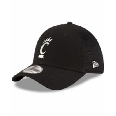 ニューエラ メンズ 帽子 アクセサリー Cincinnati Bearcats Black White Neo 39THIRTY Cap Black