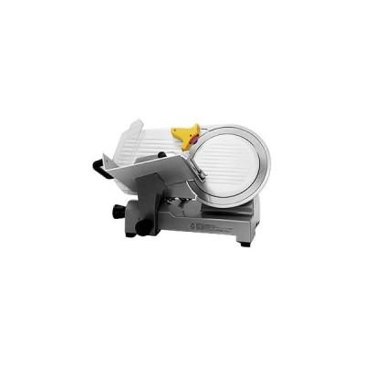 ミナト 業務用ミートスライサー (高品質イタリア製回転刃/アルミ製) (PMS-300F 回転ブレード直径:300mm)