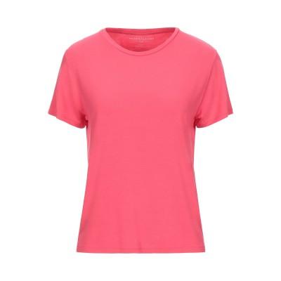 マジェスティック MAJESTIC FILATURES T シャツ ピンク 1 レーヨン 94% / ポリウレタン 6% T シャツ