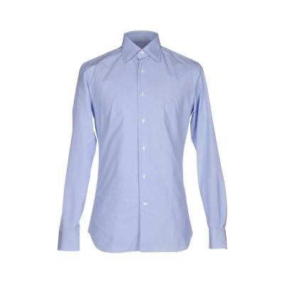 ALESSANDRO GHERARDI シャツ ブルー 42 コットン 100% シャツ