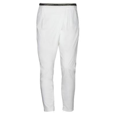 イレブンティ ELEVENTY パンツ ホワイト 44 コットン 96% / ポリウレタン 4% パンツ