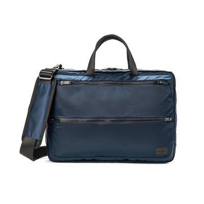 【カバンのセレクション】 吉田カバン ポーター エヴォ ビジネスバッグ メンズ 軽量 A4 PORTER 534-05270 ユニセックス ネイビー フリー Bag&Luggage SELECTION