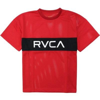 RVCA/ルーカ RVCA DEALER TEE RED Tシャツ クルーネック 半袖