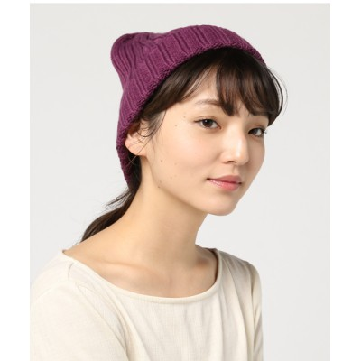 FUNALIVE / 【JABURO / ジャブロ】リブニットワッチ ACRYL 2*2 WATCH WOMEN 帽子 > ニットキャップ/ビーニー