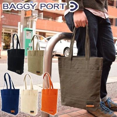 BAGGYPORT(バギーポート) カラーバイオ トートバッグ GRN-1514 メンズ レディース キャンバス 肩掛けバッグ 手さげバッグ
