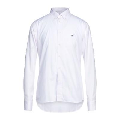 ヘンリー コットンズ HENRY COTTON'S シャツ ライトピンク M コットン 100% シャツ