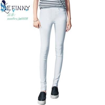 女性 鉛筆 ズボンカジュアルパンツ弾性ウエストスキニーパンツ黒ホワイトストレッチパンツ グループ上 レディース衣服 から パンツ カプリパンツ 中
