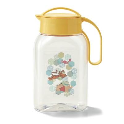 【おうちディズニー】熱湯も注げる洗いやすい縦横兼用冷水筒<1.8L>(選べるキャラクター)(ディズニー)